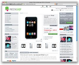 Статья в блоге Шопмастера о магазине PrestaShop